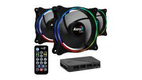AeroCool комплект вентилатори Fan Pack 3-in-1 3x120mm - ECLIPSE 12 Pro - Addressable RGB with Hub, Remote - ACF3-EL10217.12