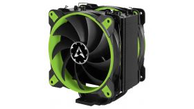 Arctic охладител за процесор Freezer 33 eSports Edition Green - AM4/2066/2011/1151/1150/1155/1156 Геймърско охлаждане за процесор с два вентилатора, зелено
