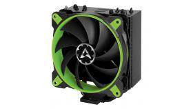 Arctic охлаждане за процесор Freezer 33 eSports ONE - Green - LGA2066/LGA2011/LGA1151/AM4 Геймърски охладител за CPU, зелен