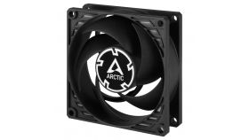 Arctic вентилатор Fan 80mm P8 PWM - black/black - 200-3000rpm