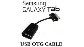VCom Кабел OTG Samsung M / USB AF White - CU277-W-0.2m Samsung Type M OTG Cable AF To Samsung male plug. White color 0.2m
