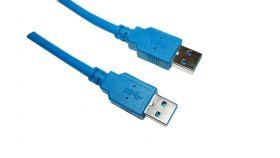 VCom Кабел USB 3.0 AM / AM - CU303-1.5m USB 3.0 кабел мъжко/мъжко, 1.5м<br>