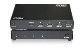 VCom Сплитер HDMI SPLITTER Multiplier 1x4 - DD414A