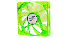 DeepCool Вентилатор Fan 120mm Green LED Xfan 120U G/B - 1300rpm