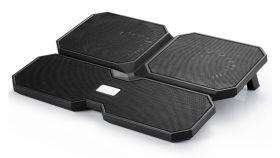 "Охладител за лаптоп Notebook Cooler MULTI CORE X6 15.6"" - Black"