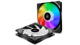 DeepCool Fan Pack 2-in-1 2x140mm - CF140 - RGB Addressable with controller