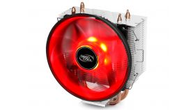 DeepCool охладител CPU Cooler GAMMAXX 300R Red LED 1151/775/1366/AMD
