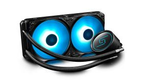 DeepCool течно охлаждане Water Cooling GAMMAXX L240 RGB - Intel/AMD с поддръжка за AMD AM4