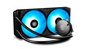 DeepCool Водно охлаждане Water Cooling MAELSTROM 240RGB Водно охлаждане за процесор Intel/AMD с RGB осветление с възможност за управление от дънната платка и от собствения контролер