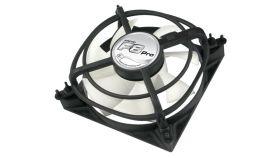 Arctic Вентилатор Arctic Fan F8 Pro - 80mm/2000rpm Тих вентилатор 80мм на 34мм, 12 волта, 2000 оборота в минута, 28 CFM, вградена антивибрация