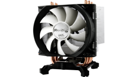 Arctic Охлаждане Freezer 13 - 1366/1155/775/AMD Компактно, но много мощно процесорно охлаждане, 4 U-образни хийтпайпа, вентилатор 9 см с PWM контрол, много тихо