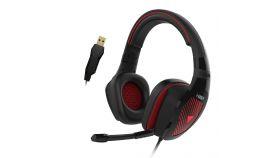 Gamdias геймърски слушалки Gaming Heaphones USB - EROS M1 RGB