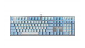 Gamdias механична клавиатура Gaming Keyboard Mechanical  - HERMES M5 - 1000Hz, Aluminium plate