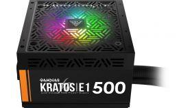 Gamdias Захранване PSU 500W Addressable RGB - KRATOS E1-500
