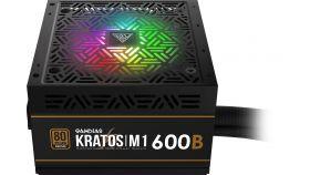 Gamdias Захранване PSU 600W Bronze Addressable RGB - KRATOS M1-600B