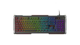 Genesis геймърска клавиатура кирилизирана Gaming Keyboard RHOD 400 RGB Bulgarian Layout - NKG-1362
