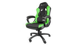 Genesis Геймърски стол NITRO 330 (SX33) Gaming Chair - Black/Green - NFG-0906