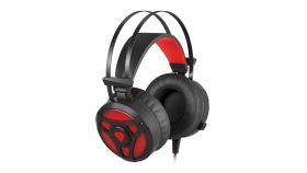 Genesis геймърски слушалки Gaming Headset with Red backlight NEON 360 - NSG-1107