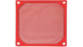 Evercool Филтър Fan Filter Metal Red - 92mm Филтър за PC, за 92мм вентилатор, метален, червен
