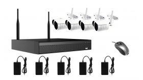 Longse комплект за безжично видеонаблюдение Wi-Fi Kit - 4xBullet IP Cameras 2MP + NVR - WIFI3608DE4FE200