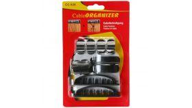 Makki комплект държачи за кабели Cable Organizer KIT - MAKKI-CLAMPS-S1