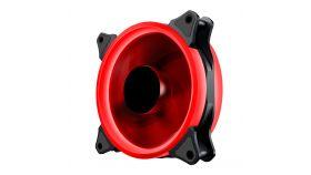 Makki Fan 120mm - RED LED Double Ring