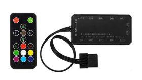 Makki RGB Fan controller 10 fans / 6pin / IR remote control - MAKKI-RGB-FANCTRL2