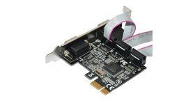 Makki PCI-E card 4 x Serial port - MAKKI-PCIE-4XSERIAL-V1