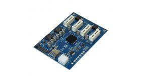 Makki Mining PCI-E splitter 4X - MAKKI-MINING-PCIE-4X-v005
