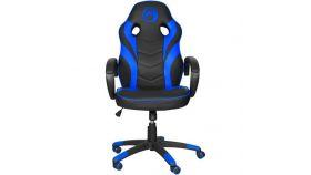 Marvo геймърски стол Gaming Chair CH-301 Black/Blue - MARVO-CH-301-BL