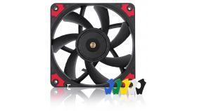 Noctua Вентилатор Fan 120x120x15mm NF-A12x15 PWM chromax.black.swap
