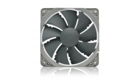 Noctua Вентилатор Fan 120mm NF-P12 redux-1700PWM до 1700 оборота в минута, Blade Geometry  - Pressure-optimized, Nine Blade Design with Vortex-Control Notches