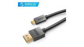 Orico кабел Cable HDMI 2.0 to Micro HDMI Type D, 4K/60Hz, 1m - HD101-10-BK