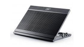 "Охладител за лаптоп Notebook Cooler N9 17"" - aluminium black"