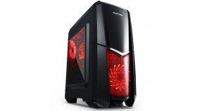 Segotep Кутия Case mATX Dawning Blade Black USB3.0