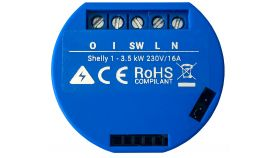 Shelly Безжично реле Smart Wi-Fi Relay - Shelly 1 - 1 channel, 16A