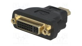 VCom Адаптер Adapter HDMI M/DVI-D F 24+1 - CA311