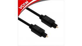 VCom оптичен кабел Digital Optical Cable TOSLINK - CV905-3m DIGITAL OPTICAL CABLE Toslink  black    30 AWG
