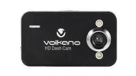Volkano видеорегистатор Car Dash Camera HD - VS-000-BK Даш камера, резолюция 720p, адаптор за запалка, кабел, стойка за стъкло