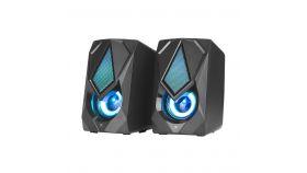 Xtrike ME тонколони Gaming Speakers 2.0 6W RGB Backlight, USB powered - SK-402