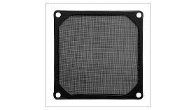 Evercool Филтър Fan Filter Metal Black - 80mm Филтър за вентилатор 80мм, черен, метален