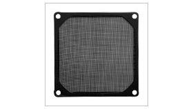 Evercool Филтър Fan Filter Metal Black - 92mm Прахов филтър за вентилатор 92мм, метален, черен, лесен монта
