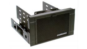 """Evercool Охлаждане HDD bay 2x5.25"""" for 3HDD Fan/Filter HD-AR-B Допълнителен слот за до 3 харддиска или 4 SSD, заема два 5.25"""" слота, с анти-вибрации и активно охлаждане с вентилатор"""