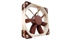 Noctua Вентилатор Fan 120mm NF-S12A FLX Висок клас вентилатор 120x120x25мм, 1200(с опция с адаптор за намаляване до 900/700) оборота в минута, с гумички против вибрации