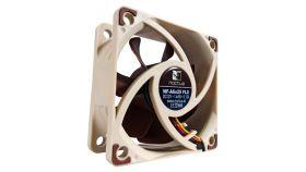 Noctua Вентилатор Fan 60x60x25mm 3000/2400/1600rpm NF-A6x25 FLX Висок клас вентилатор 60x60x25мм, 3000(с опция с адаптор за намаляване до 2400/1600) оборота в минута, с гумички против вибрации