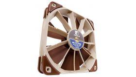 Noctua Вентилатор Fan 120mm NF-F12 PWM Висок клас вентилатор 120x120x25мм, 1500(с опция с адаптор за намаляване до 1200) оборота в минута,мин.скорост 300об/мин., с гумички против вибрации, 4 пина