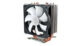 Evercool Охладител CPU Cooler VENTI DirectTouch 120mm PWM - 775/1155/1366/2011/AMD Охлаждане за процесор, едно от най-добрите решения за цената си, поддръжка на всички съвременни процесори, 120мм PWM перка