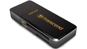 Transcend USB3.0 SD/microSD Card Reader (Black)