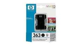 HP 363 Black Ink Cartridge, 6ml