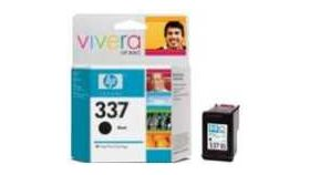 HP 337 Black Inkjet Print Cartridge, HP PS 2575 AiO, PS 8250, DJ 5940